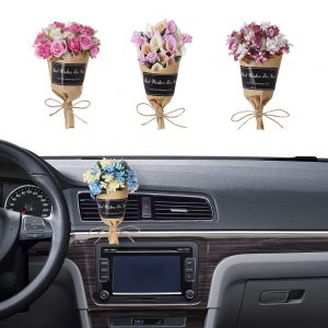 Mini-Factory Car Air Vent Clip Flower Wrap