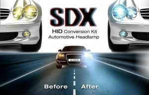 "SDX HID Headlight DC Xenon ""Premium"" Conversion Kits"
